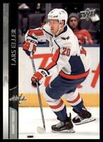 2020-21 UD Series 1 French #188 Lars Eller - Washington Capitals