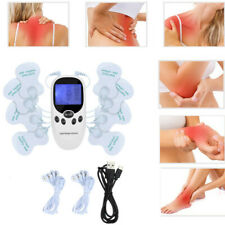 Tens Unit Electric Muscle Stimulator Machine, Dual Channel Touch Screen EMS+Pads