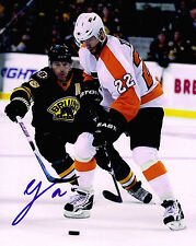 VILLE LEINO signed PHILADELPHIA FLYERS 8X10 PHOTO COA