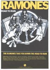 RAMONES POSTER,  ROAD TO RUIN.  Punk.