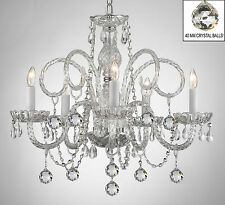 ALL CRYSTAL CHANDELIER CHANDELIERS WITH CRYSTAL BALLS!