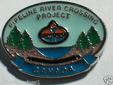 Amoco Employee Dealer Pin  Canadian Amoco Pipeline River Crossing Project
