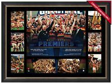 Adelaide Crows 1997 & 1998 Back to Back Premiers AFL Premiergraph Framed McLeod