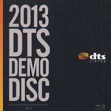 DTS HD-MA 5.1,7.1&11.1 Demo #17 Genuine Blu Ray Disc CES 2013 - Used Very Rare