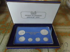 1981 Singapore Silver Proof Coin Set (1¢ - $1 Coin)