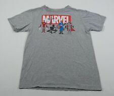 Marvel Justin Harder Kids Avengers Graphic T-Shirt Sz L