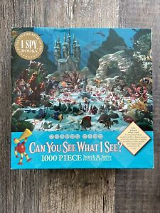 Ceaco Little Mermaid Can You See What I See Puzzle 1000 Piece Walter Wick New