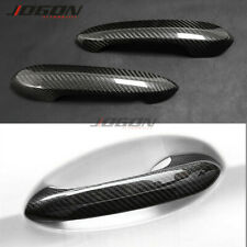 Real Carbon Car Door Handle Cover Trim For Toyota Supra A90 MK5 2019 2020 2021