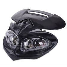 Front Head Dual Sport Light Lamp Fairing Strap Fit for Street Fighter Motorcycle