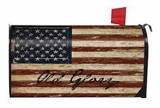 Old Glory Patriotic Magnetic Mailbox Cover American Flag Rustic Briarwood Lane
