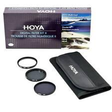 Hoya 77mm Digital Filter Kit: UV(C) + CPL/Circular Polarizer + NDx8/ND8 + Pouch