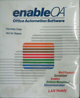 "Enable/OA Office Automation Software. 1989. 5 1/4"" disks - Dos & OS/2  BRAND NEW"