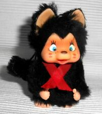 Nyamy Katze Mini zum Hängen - ca. 8 cm lang in schwarz