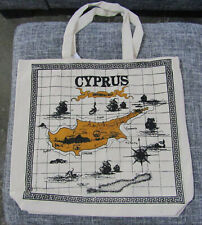 Cyprus Historical Map Shopping Bag - New