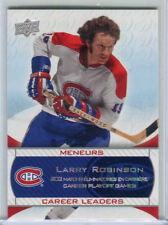 2008-09 Upper Deck Canadiens Centennial Collection #243 Larry Robinson