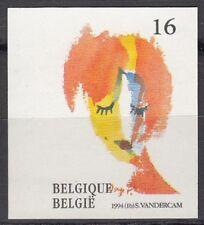Belgium Sc1538 Painting, Ma Toute Belle, Serge Vandercam, Imperf