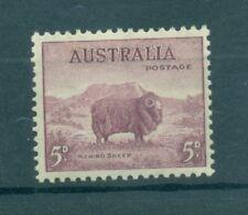 PECORA MERINO - MERINO SHEEP AUSTRALIA 1937/1949 Common Stamp 5d