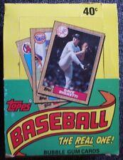 1987 Topps Baseball Wax Packs