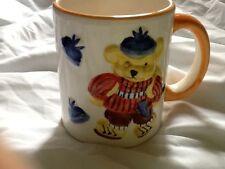 3D coffee mug with 3D bear and caps. (hats) Tea Cup