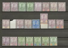 MALAYA/JOHORE 1922-41 SG 103/24 Mint Cat £405