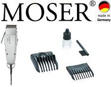 MOSER professionali per capelli Clipper ARGENTO 0,1MM - 18mm NUOVO