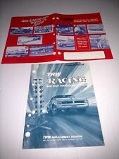 Trw Drag Racing & High Performance Parts Vintage catalog 1970 Sox & Martin Jegs