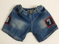 Build A Bear ~ Denim Jeans w/ 97 Patches