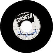 JIM ADAMS - Ballad of T. Eugene - Signed 45 - NM vinyl, NM Labels w Promo Card