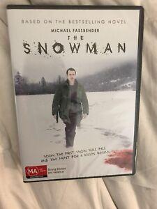 The Snowman (DVD, 2018)