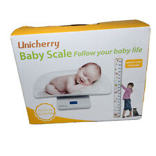 Unicherry Digital Baby Scale Multi-Funtion Growth Chart Or Pets Weight