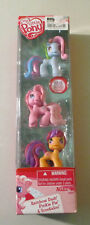My Little Pony Ponyville Rainbow Dash, Pinkie Pie and Scootaloo removable wigs
