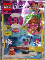 Lego Friends Promo Polybag 561906 Sea Rescue Hamster Roboter  Surfboard NEU RAR