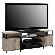 Tv Stand Altra Oak Sonoma 70 Black Furniture Carson Dexter Finish Media