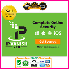 IPVanish VPN Premium ✔️LIFETIME SUBSCRIPTION ✔️Warranty ✔️Fast Delivery🥰