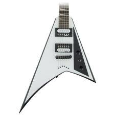 Jackson JS32T Rhoads White w/ Black Bevels Electric Guitar