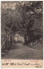 CGH: EDVII Postcard, Kloof Road, Cape Town, 6 Dec 1904