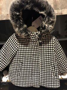 Next Check Kids Coat 3-6 Mths Rrp £33