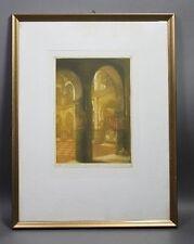 André LAMBERT (1884-1967) - Blick in Moschee in Tanger in Marokko 1913