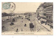 boulogne-sur-mer  , le quai gambetta