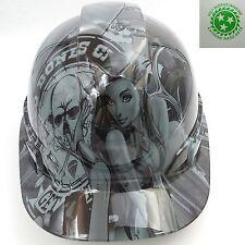 Hard Hat custom hydro dipped , OSHA approved BAD BONES CLUB NEW HARD HAT