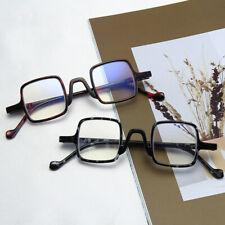 Square Retro Anti blue ray Reading glasses for reader Presbyopic +1.0 to +4.0