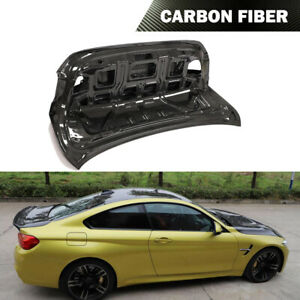 All Carbon Rear Trunk Lid Cover Kit Fit For BMW F32 420i 430i 440i F82 M4 14-19