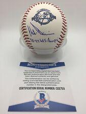 Chili Davis Signed AUTOGRAPH 100th Yankee Anniversary Baseball BAS BECKETT