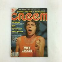 January 1982 Creem Music Magazine Exclusive Interview MICK JAGGER