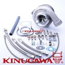 "Kinugawa FOR TOYOTA 1JZ / 2JZ-GTE GT3582R Ball Bearing Turbo w/ .73 T3 3"" V-Band"