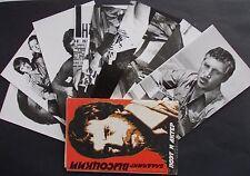 Konvolut Foto AK Wladimir Wyssozki Vysockij Schauspieler und Sänger, Sammlung