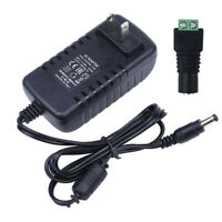 DC 12V 3A AC Adapter Charger Power Supply for LED Strip Light CCTV 2.1mm*5.5mm