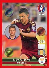 EURO FRANCE 2016 -Adrenalyn Panini- Card n. 332 - SHATOV RUSSIA - One to Watch
