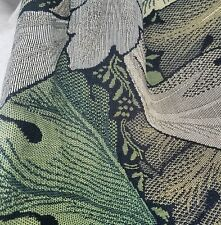 IN STOCK WILLIAM MORRIS GREEN ACANTHUS TAPESTRY FABRIC 2 METRES  RRP £90 A METRE