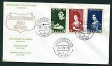 GERMANY SAAR 1956 VERY ATTRACTIVE PEOPLES HELP FIRST DAY COVER SCOTT B114-B116